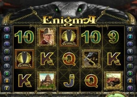 Descripción general de las tragamonedas Enigma HD para jugadores en línea